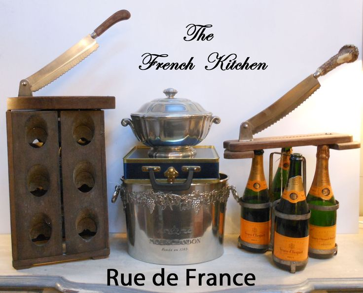 The French kitchen -- Antique French kitchen items