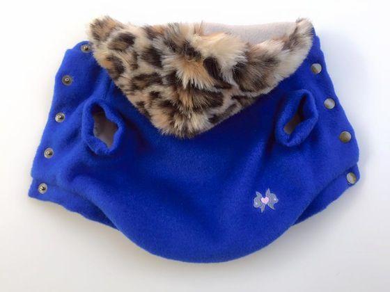 Image of Leo Coat [electric blue]