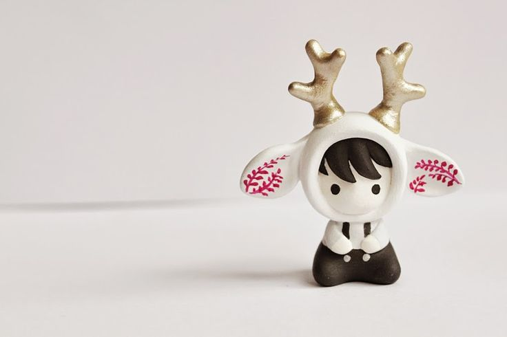 Mijbil Creatures | Miniature Deer toy | Online Store Powered by Storenvy
