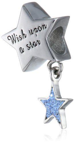 "Disney Stainless Steel Dangle Crystal ""Wish Upon a Star"" Star Bead Charm Disney,http://www.amazon.com/dp/B00FMTJ6UE/ref=cm_sw_r_pi_dp_qQv8sb1AHSPRG1FR"
