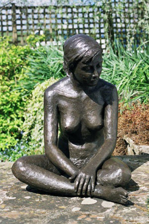 Naked women garden statues good