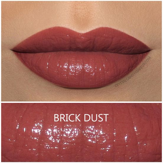 MAC Liptensity Lipstick in Brick Dust, review and swatches