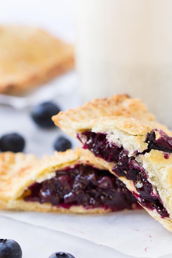 Gluten-Free Blueberry Hand Pies Recipe