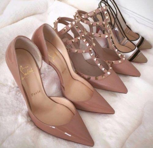 nude tan pump shoes- Nude classy pump shoes http://www.justtrendygirls.com/nude-classy-pump-shoes/