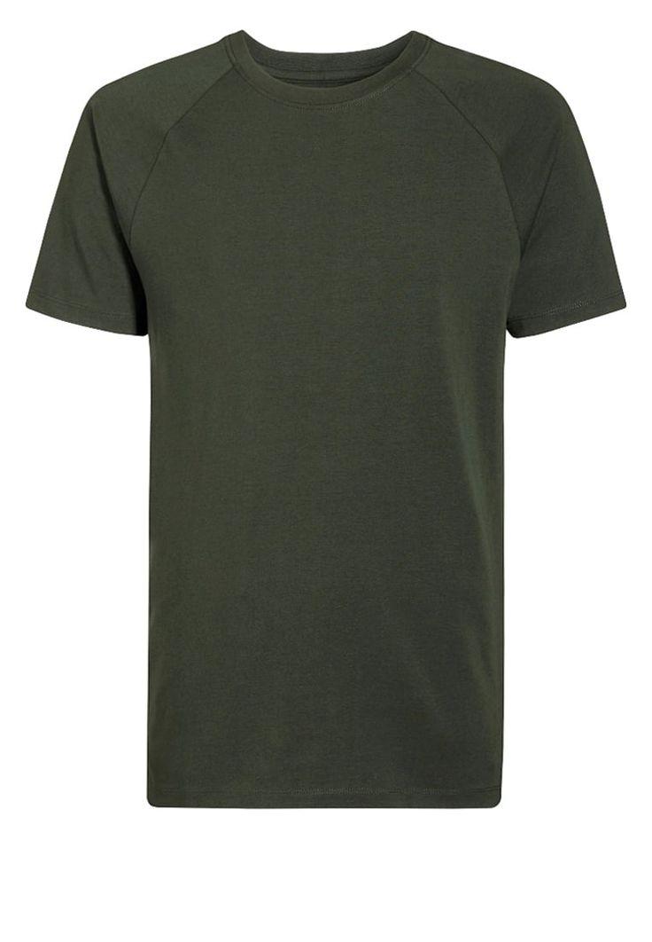 Next TShirt basic green Bekleidung bei Zalando.de | Material Oberstoff: 95% Baumwolle, 5% Elasthan | Bekleidung jetzt versandkostenfrei bei Zalando.de bestellen!