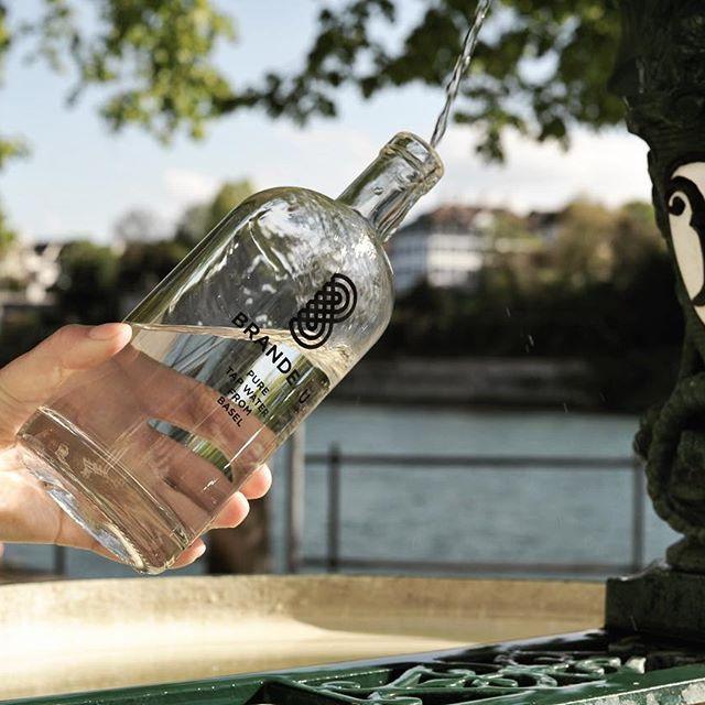 www.brandeau.ch I Frisch gezapfte Erfrischung in Basel.  •••  #brandeaubottles #wasser #water #wasserflasche #wassertrinken #wassergenuss #hahnenwasser #stilleswasser #flasche #karaffe #wasserkaraffe #glasflasche #fillin #schweizerwasser #tapbottle #tapwater #basel #rhein #brunnen #freshwater #rheinbasel #rheinweg #obererrheinweg