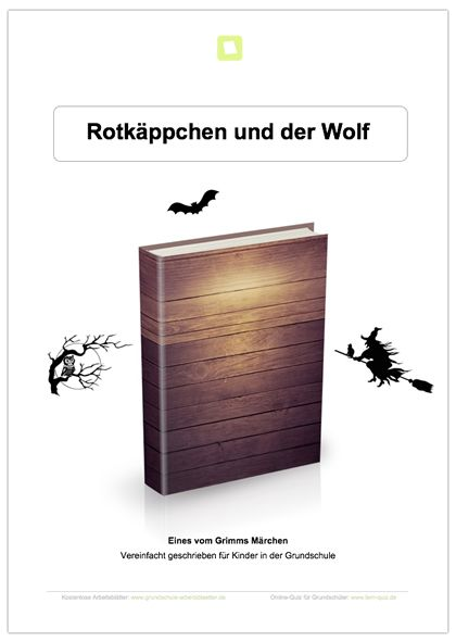 neu deutsch m rchen die kinder erhalten das m rchen rotk ppchen vereinfacht geschrieben. Black Bedroom Furniture Sets. Home Design Ideas