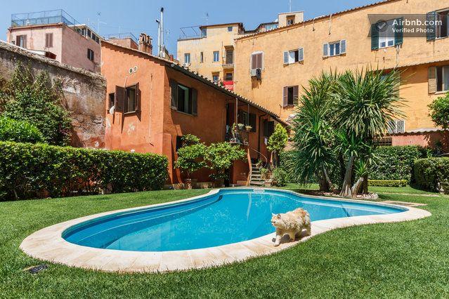 Loft with pool in Trastevere, Rome in Rome