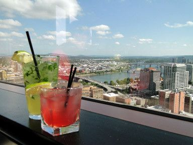 Best view for happy hour or a nice dinner at Portland City Grill!