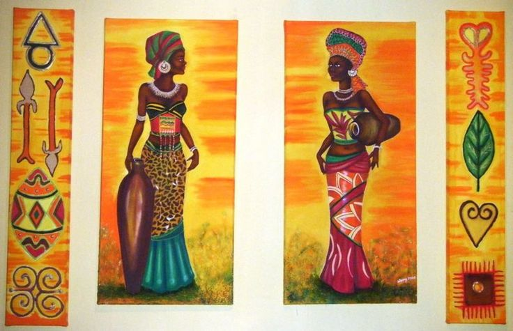 CUADROS Y LAMINAS AFRICANAS on Pinterest | African Art, African ...