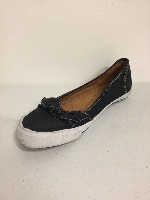 Naturalizer Navy Loafers Size 8 VET