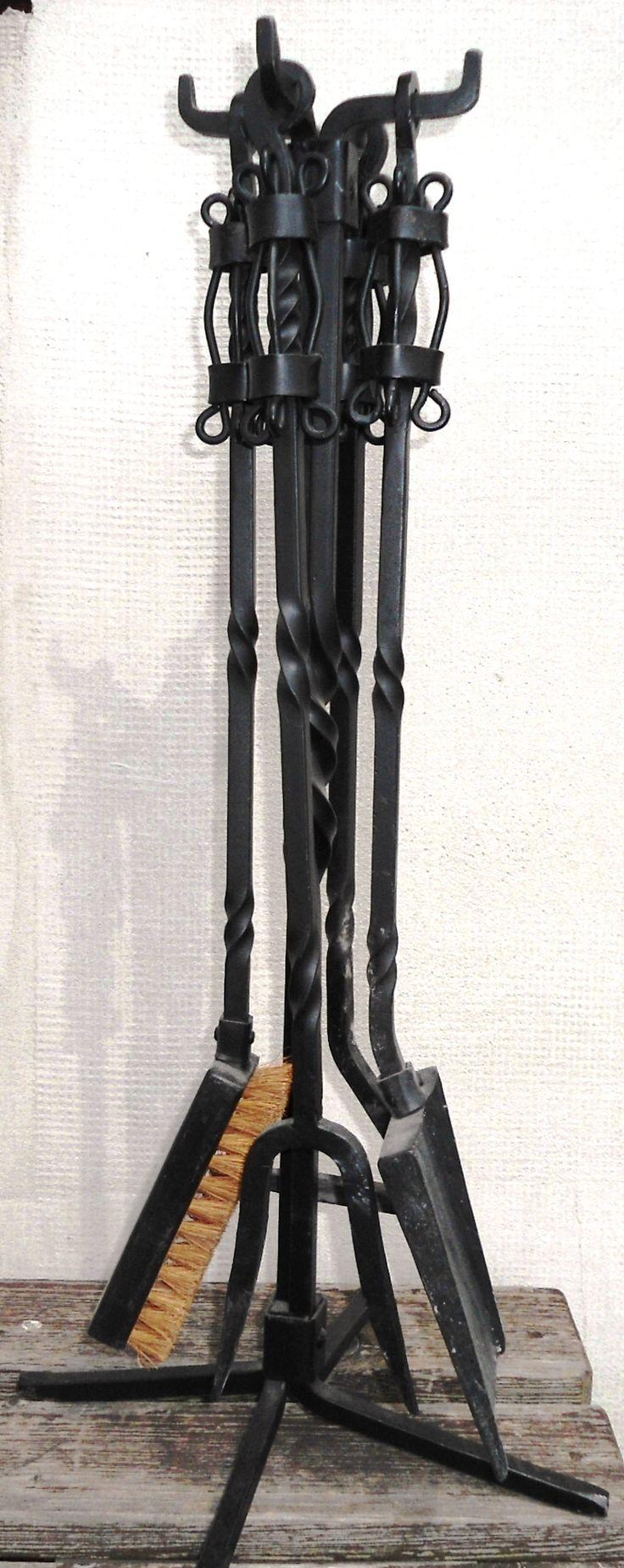 handmade fireplace tools