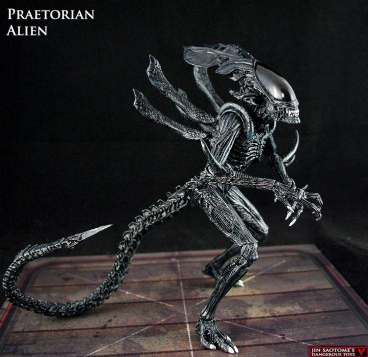 Xenomorph Vs Deacon Praetorian Alien Guard...