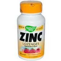 Zinc Lozenges with Echinacea 23 mg. 60 Lozenges by Nature's Way. Save 26 Off!. $4.45. Nature's Way Zinc lozenge boosts cold season defense with zinc, widely recognized as an important nutritional support during the cold season, and echinacea pupurea, clinically shown to support the immune system, and Vitamin C, a vitally important vitamin for general health maintenance.*