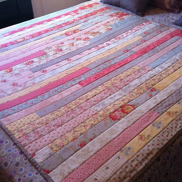 1600 Jelly Roll Quilt