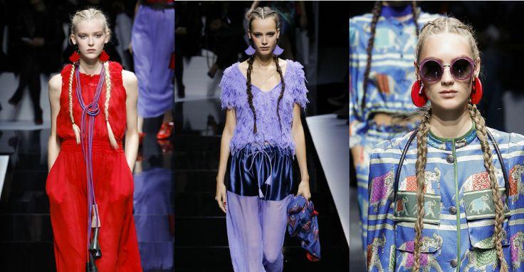 Settimana della Moda di Parigi - Primavera/Estate 2017   Emporio Armani: lo stilista rimane fedele a se stesso: ogni outfit della nuova collezione vi delizierà con un piacevole accostamento di colori, dettagli interessanti e accessori molto carini.