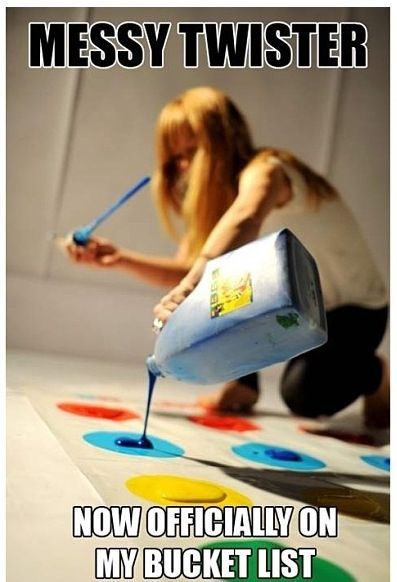 Messy twister... Fun kids game >> are you brave enough to try this?