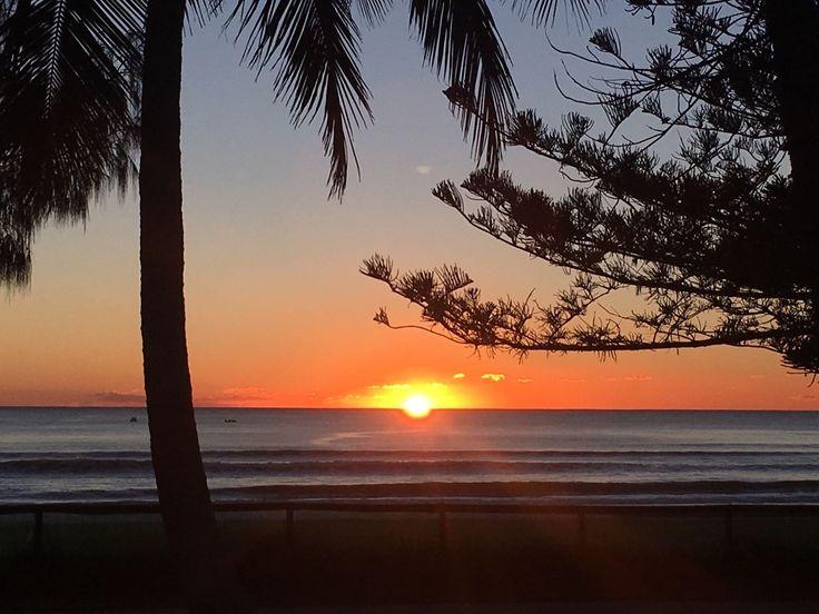 Another beautiful morning at Burleigh Beach.
