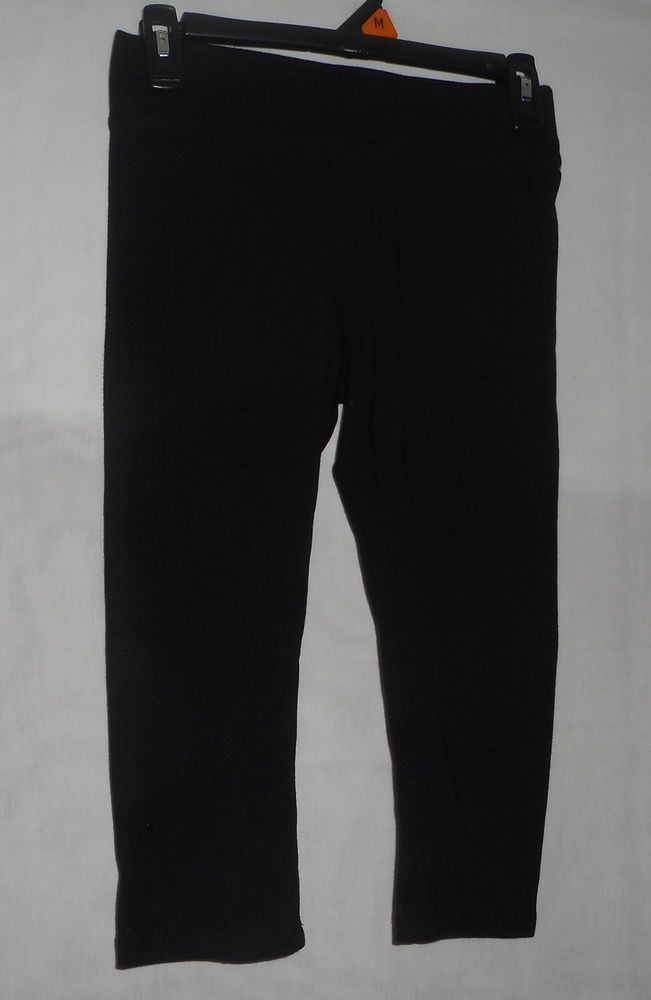 Sonoma New Women's Black Capri Leggings - PXS  | eBay