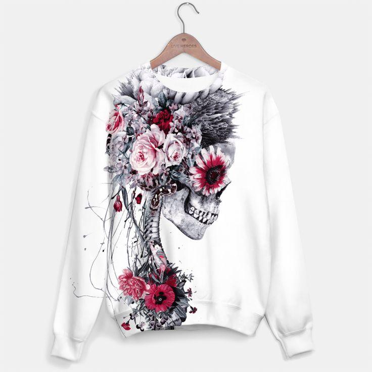 Skeleton Bride #skull #fashion #sweaters