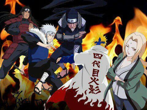 Konoha (leaf village ) Hokages   Naruto   Pinterest