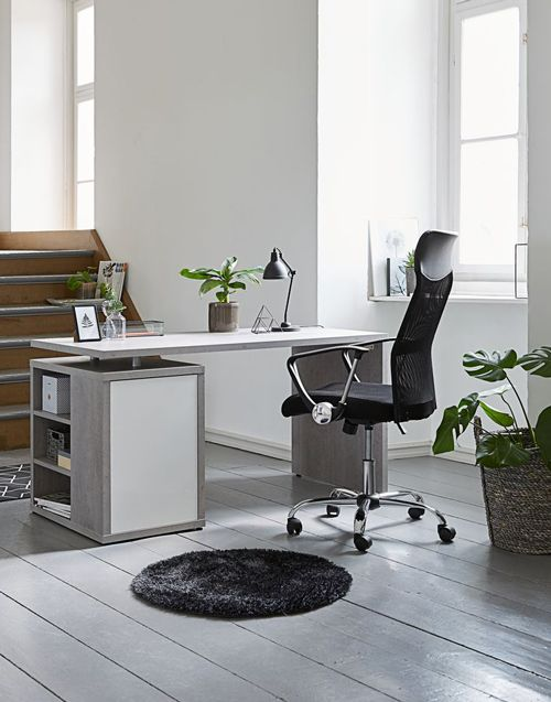 White gloss desk perfect for your work or your home office. A Scandinavian style and at a great price from JYSK.