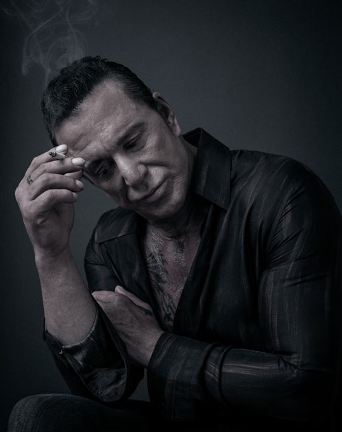 Mickey Rourke by Andy Gotts