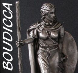 Queen Boudicca Facts | Boudicca, Queen of the Iceni, Legendary Celts 90mm scale miniatures ...