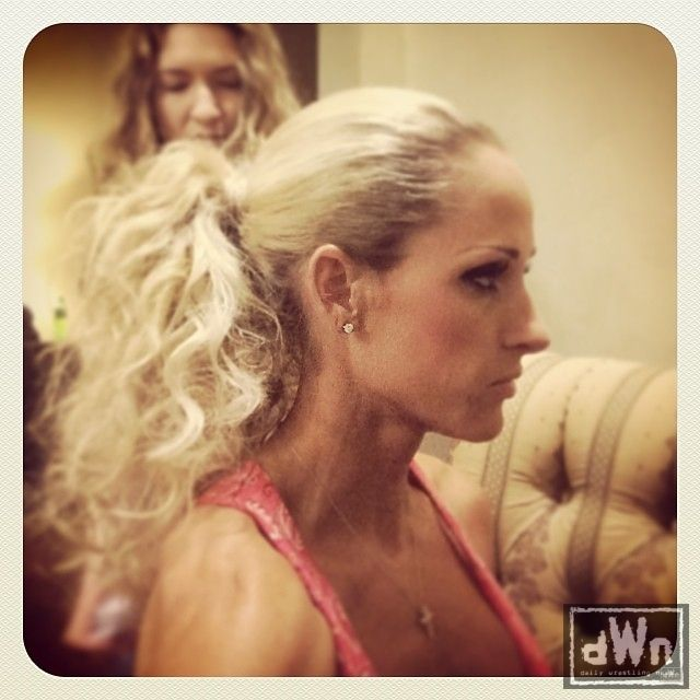 Undertaker and michelle mccool kiss