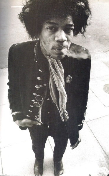 Jimi Hendrix: When I went sky diving, I was hearing one of his songs in my head…