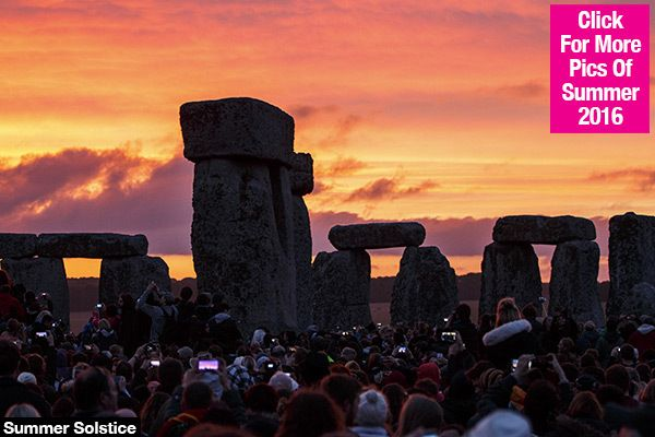 Summer Solstice:   What Is It &  What Time Will ItHappen?