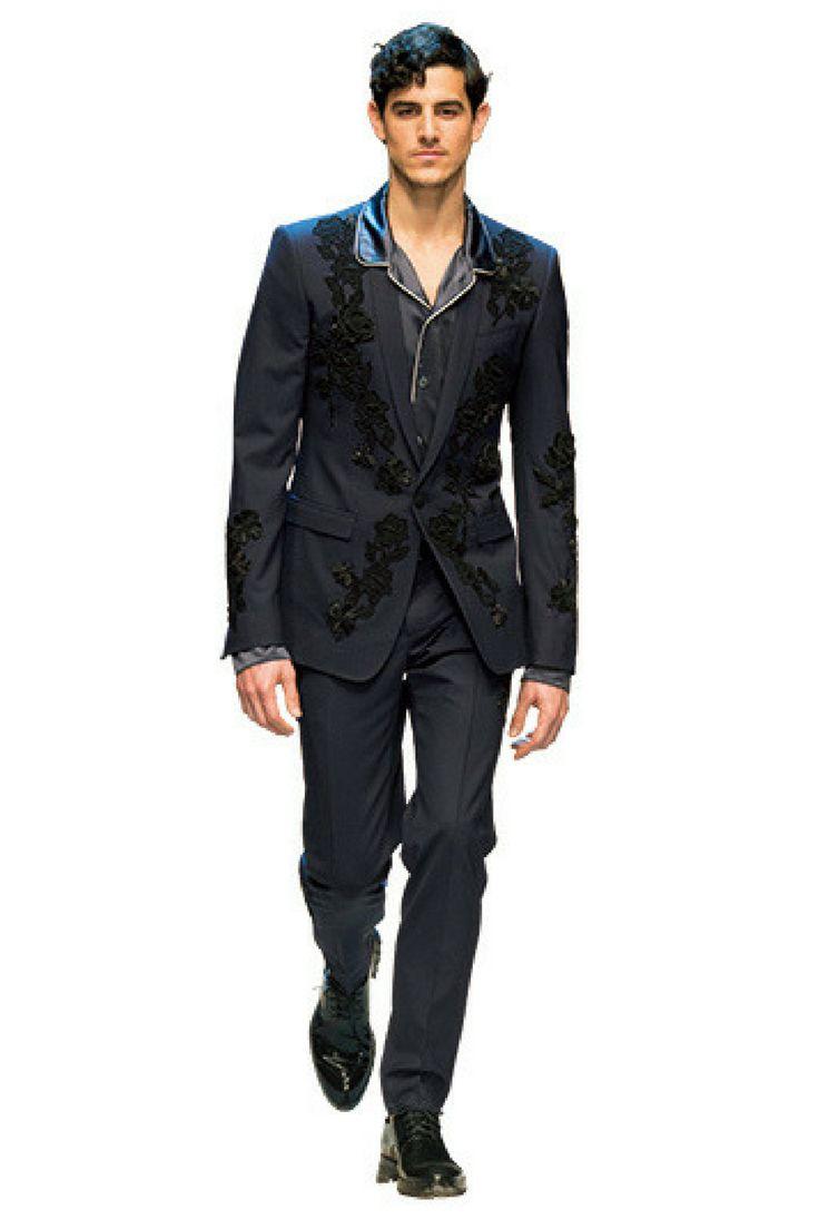 SUIT LEGENDS:DOLCE&GABBANA モードとクラシコの両極を1着で味わう──ドメニコ・ドルチェ/ステファノ・ガッバーナ  http://gqjapan.jp/fashion/20161104/suit-legends-dolce-and-gabbana#pages/3