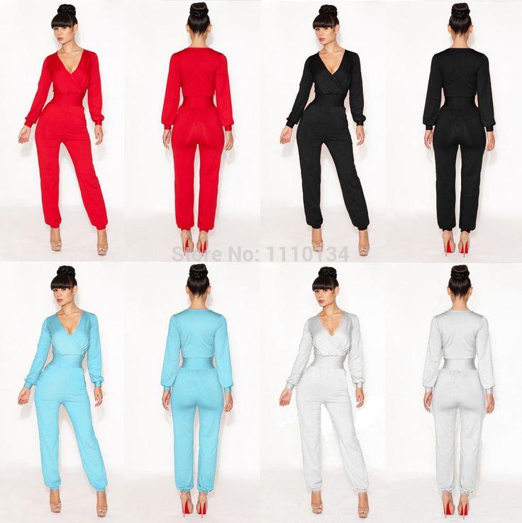 rompertjes dames jumpsuit diepe V bandage bodycon jumpsuit night party club wear bodyc pak vrouwen celebrity clubwear jumpsuit 0516 $26,57 (free shipping)