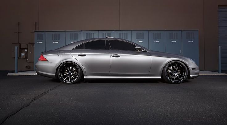 Mercedes Cls550 Wrapped In Avery Dennison Swf Matte