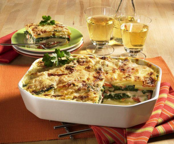 Unser beliebtes Rezept für Kartoffel-Schnitzel-Lasagne (kalorienarm) und mehr als 55.000 weitere kostenlose Rezepte auf LECKER.de.
