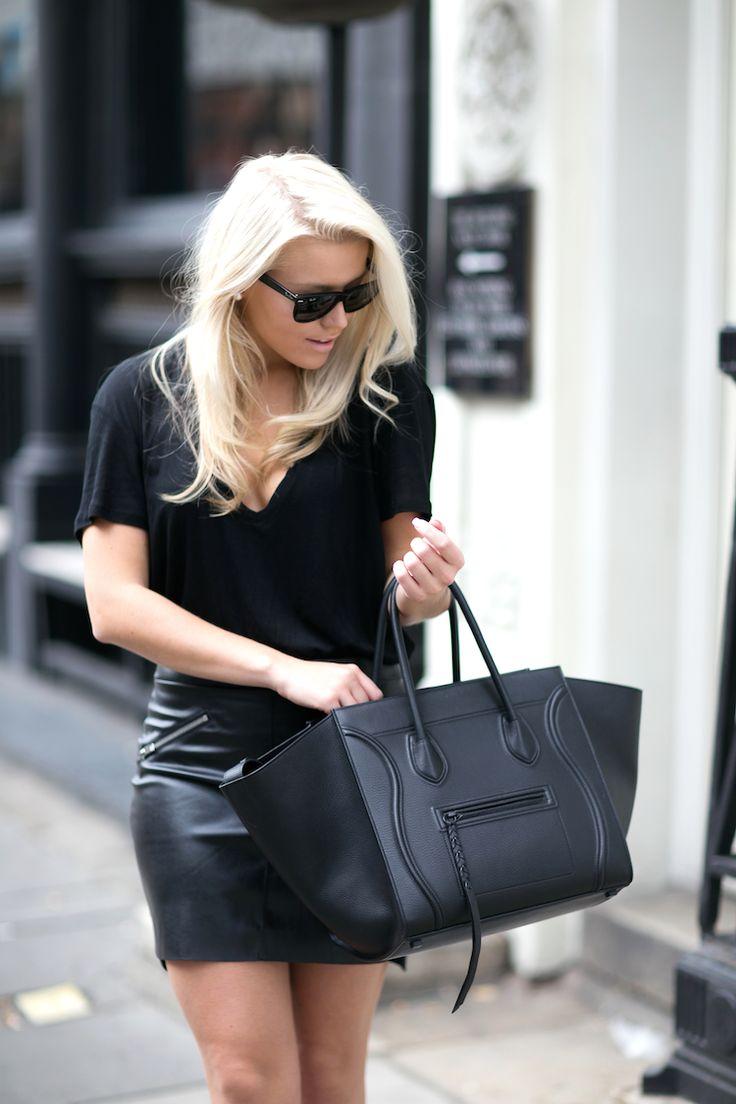 HEAD TO TOE BLACK : P.S. I love fashion by Linda Juhola
