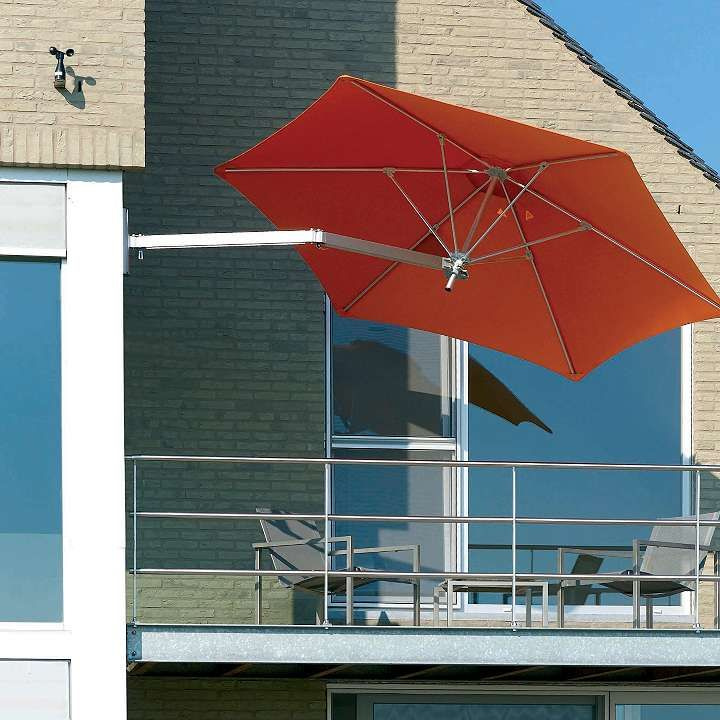 Paraflex Wallflex Wall Mount Umbrella Pergola Shade