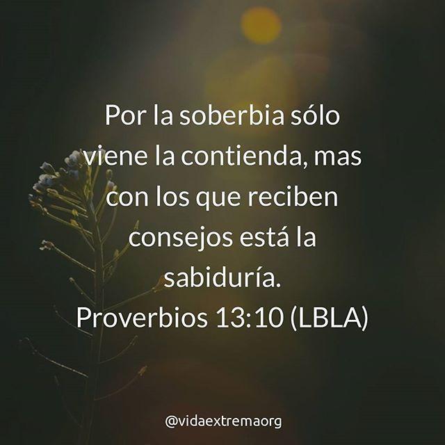 Por la soberbia sólo - Frases Cristianas en Imagenes
