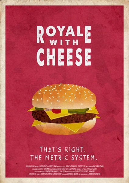 royal with cheese pulp fiction