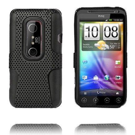 Neotronic (Musta) HTC Evo 3D Silikonisuojus