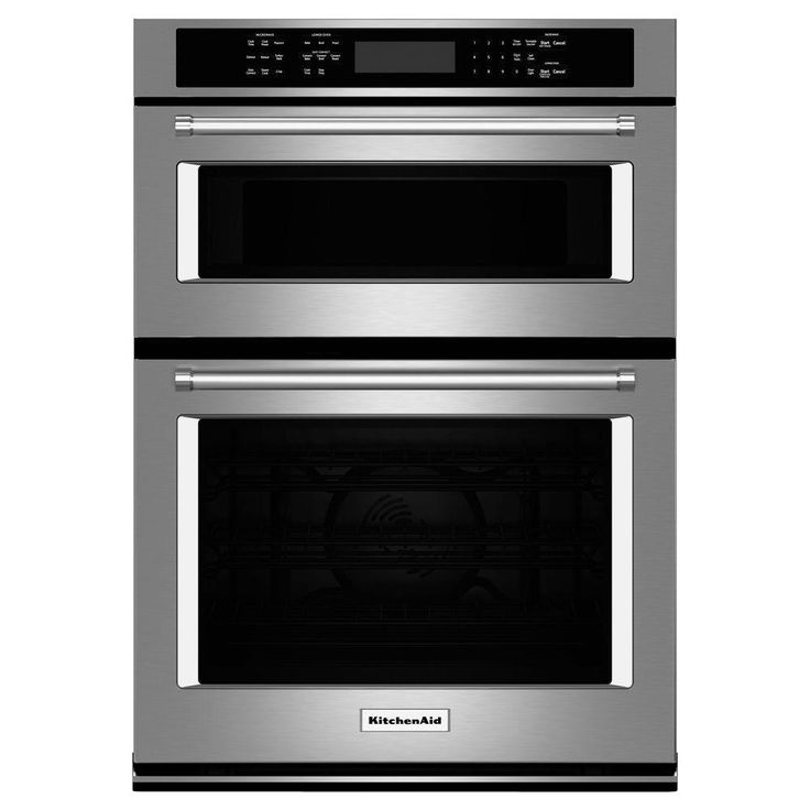 Conventional Oven Microwave Safe: KitchenAid 27 In. Electric Even-Heat True Convection Wall