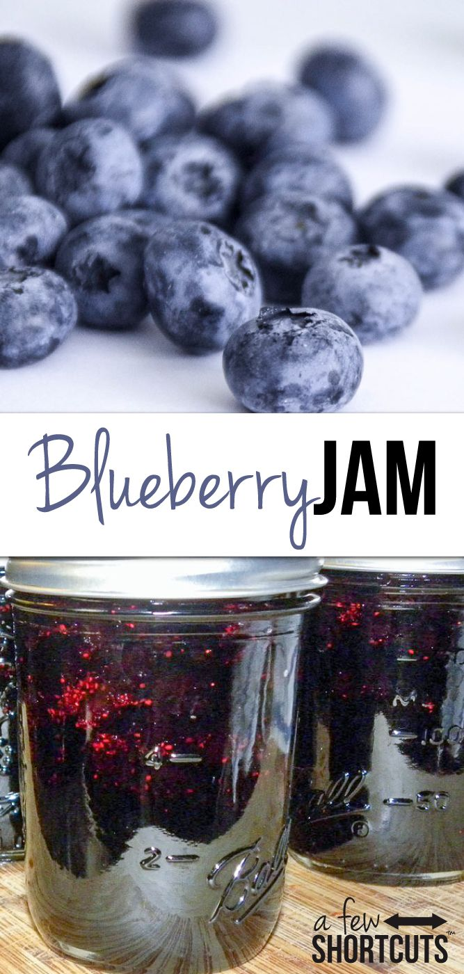 I love making homemade jam! It is so much easier than people think. In just a few easy steps  ...