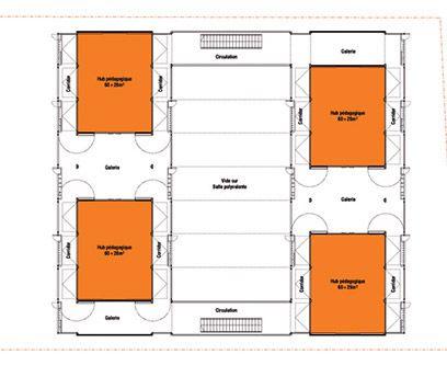 dessin et plan architecte réalisation du0027une école maternelle