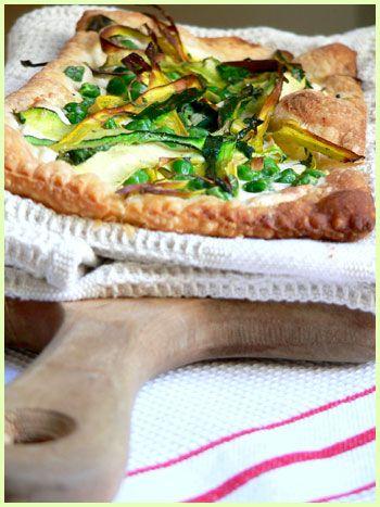 Green Vegetable Tart: Recipe, Green Vegetable
