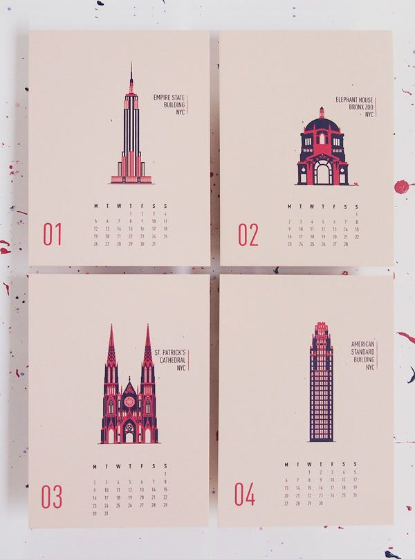 Buildings-of-New-york-City-Wall-Calendar-2015-1