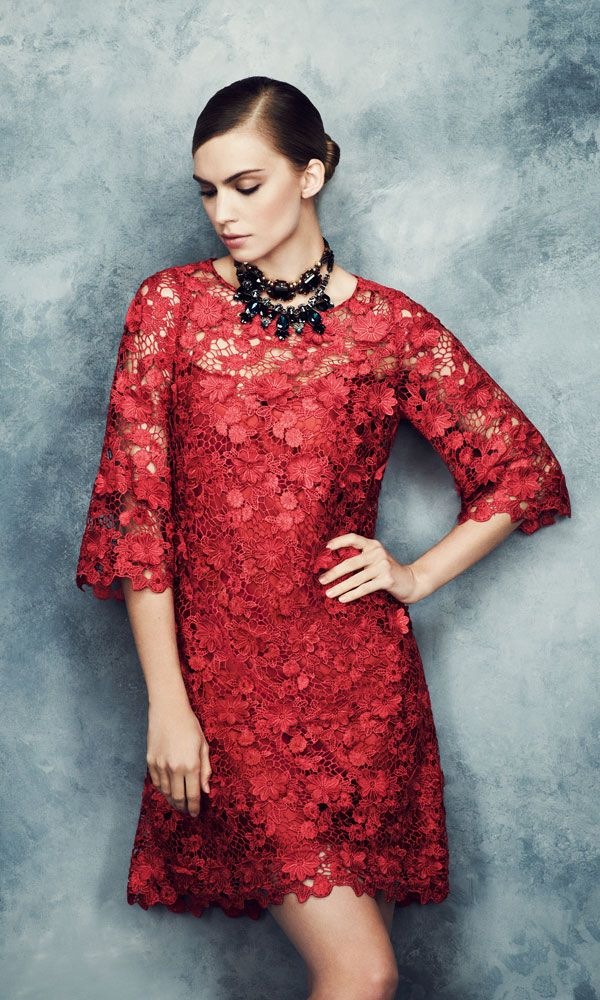 Marks and Spencer lace shift - Marks and Spencer Autumn Winter 2013 Collection