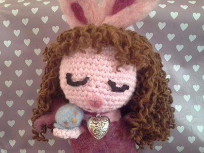 """Bonny"" coniglietta, by La Zucchetta Streghetta, 45,00 € su misshobby.com"