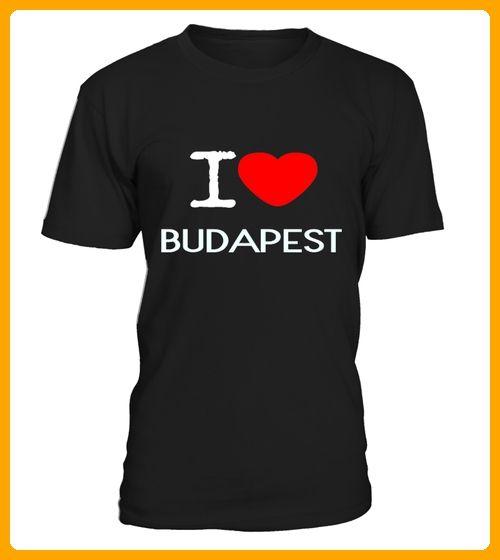 I LOVE BUDAPEST SHIRTSSWEATERHOODIES - Shirts für reisende (*Partner-Link)