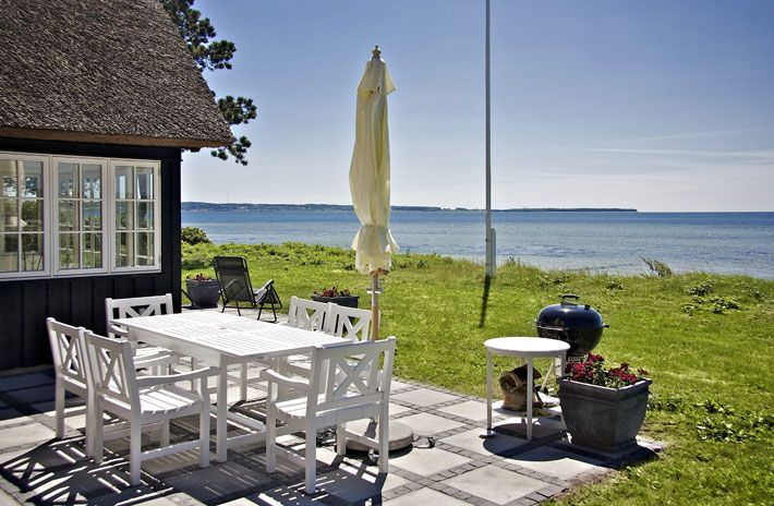 Amalie loves Denmark Ferienhaus in Dänemark Blick auf das Meer