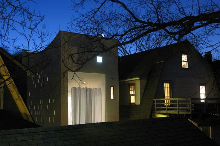 Haffenden House, Syracuse, New York - Para Studio di scrittura e sala di lettura